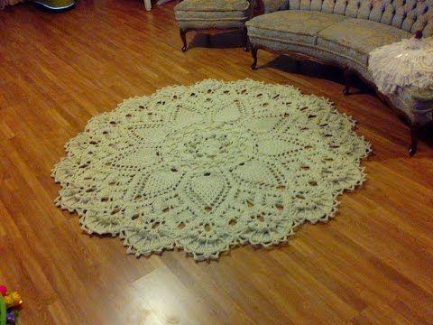 Crochet / string tapis: Apprenez à faire le modèle étonnant. - CK Crafts