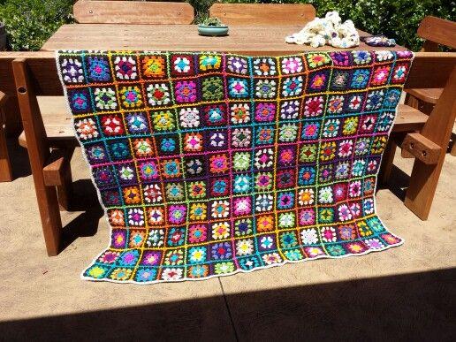My Crochet blanket