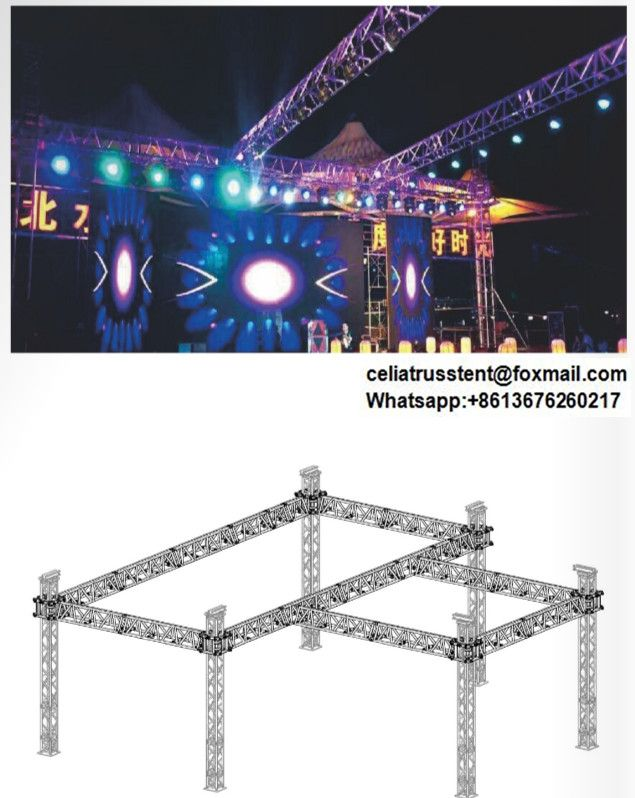 Aluminum Structure Truss Design For Outdoor Events