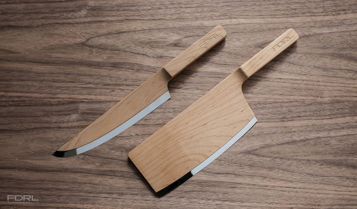 Messer aus Holz  - The Federal