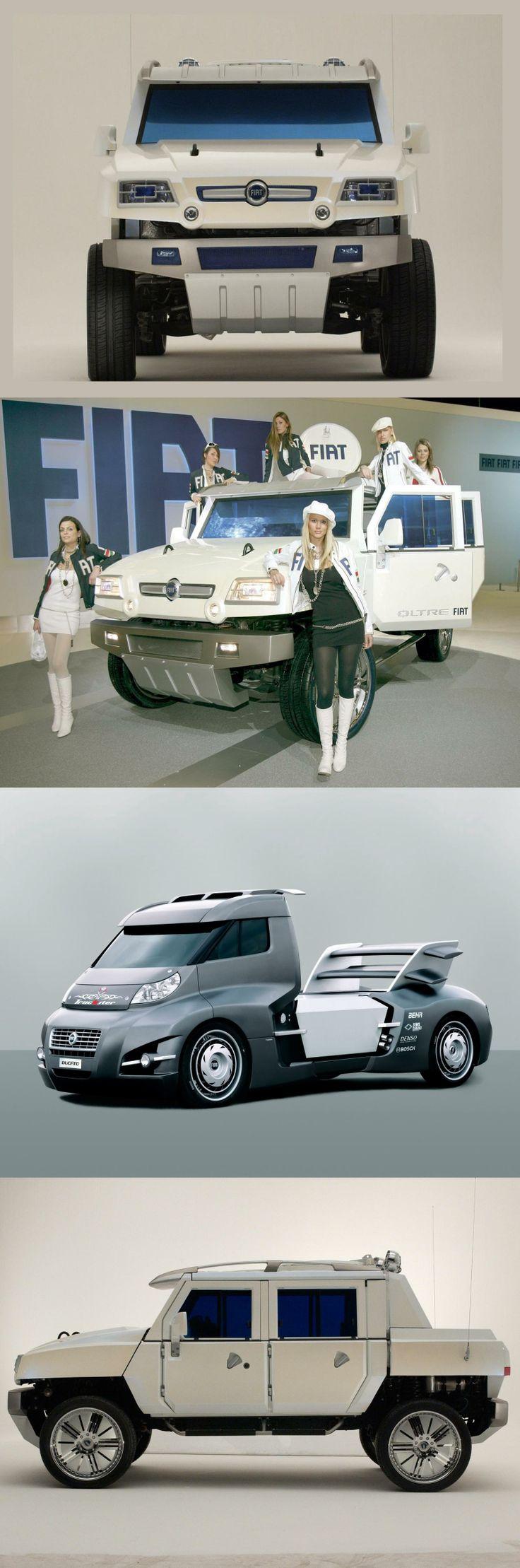 Fiat ducato truckster concept 2006