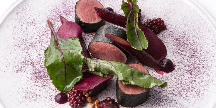 Paul Welburn's stunning smoked roe deer recipe is the ideal way to usher in autumn, with a medley of venison, blackberry and beetroot showing off the intense colours and rich flavours of the season.