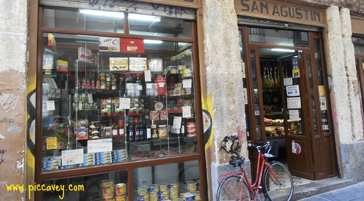 The Market of San Agustin and surronding streets in Granada have fabulous shops like this one  http://www.piccavey.com/spanish-food-market-granada/
