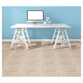 Transform your floor at a fraction of the cost with Self Adhesive Vinyl Floor Tiles. Vinyl Floor Tiles can be used in any room in your home including the kitchen, dining room, bedrooms, bathrooms, foyers and basements. No messy glue or adhesives needed. Just peel and stick vinyl tiles to a flat, dry surface and show off your beautiful new room to your friends and neighbors. Each tile measures 12 inches x 12 inches, 20 square feet per box (20 tiles per box). WARNING: This product contains…