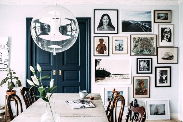 Step Inside a Blogger's Cozy and Eclectic Swedish Home   MyDomaine