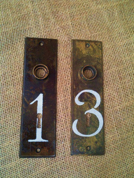 36 best Vintage Door Plates, Door Knob Plates, Key Plates, House ...
