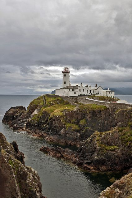 Lighthouse at Fanad Head, Co. Donegal, Ireland