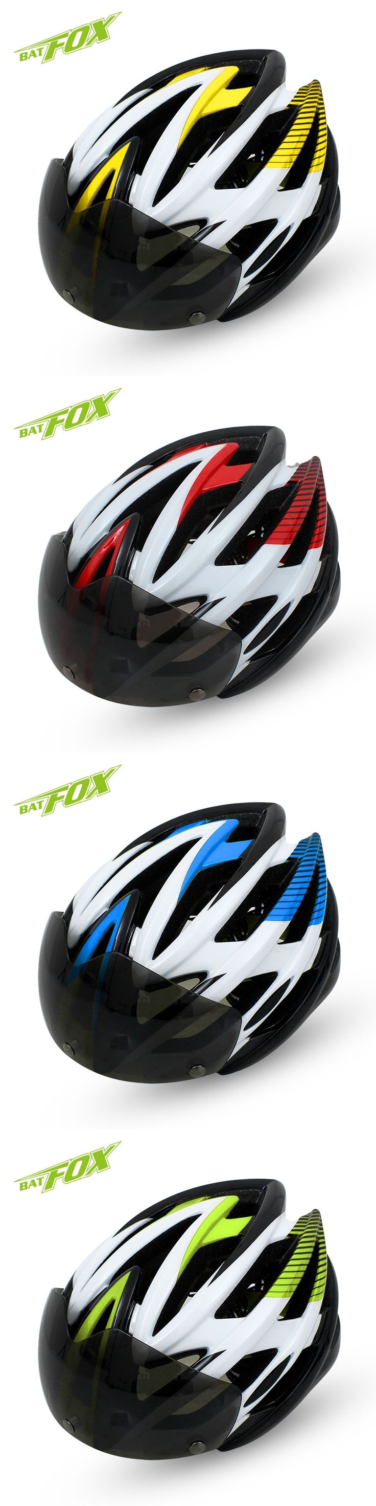 2017 New Road Bicycle Helmet MTB Helmet Casque Velo Integrally-Molded BMX Cycling Mens Downhill Road Bike Helmets With Glasses