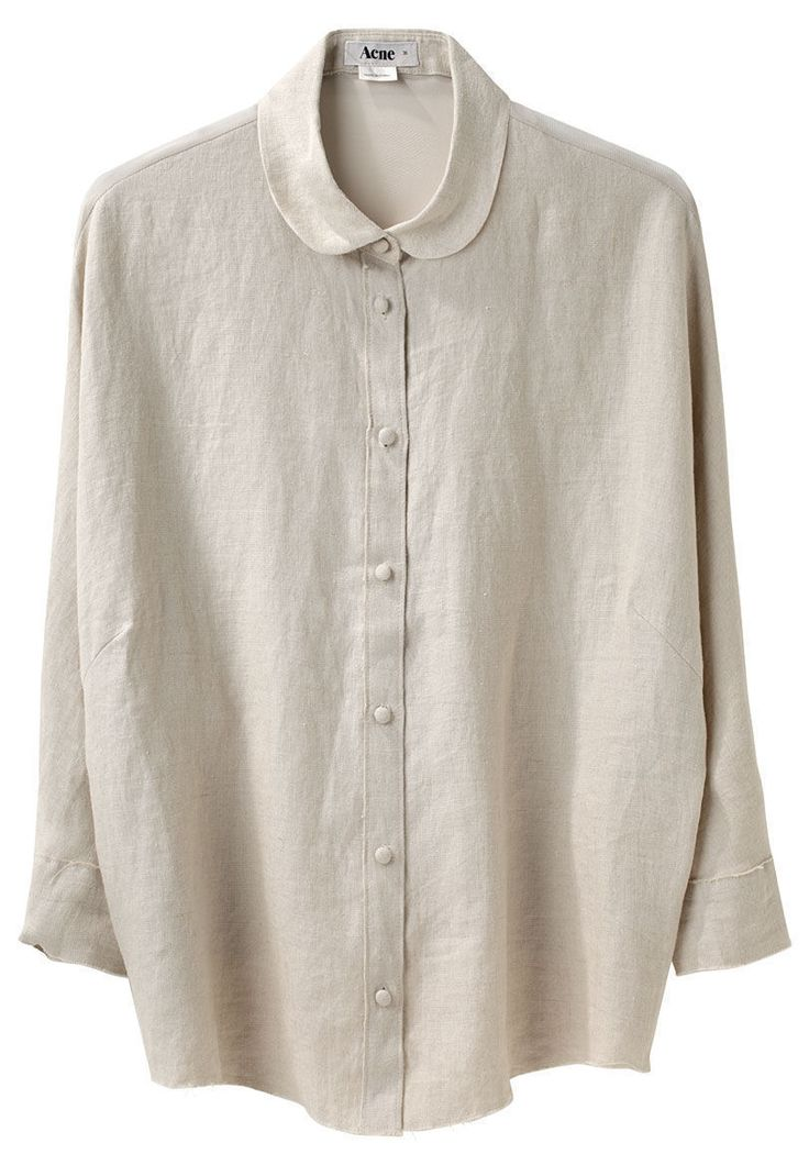 ACNE | Joy Linen Shirt | Shop at La Garçonne
