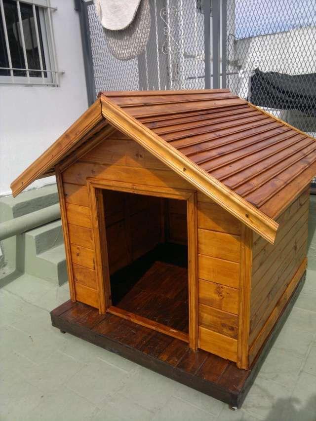 Fotos de cuchas para perros artesanales zona sur ideas - Como hacer una casa para perro grande ...