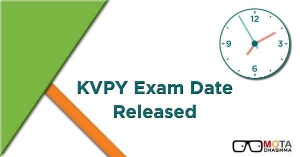 Kvpy Application Form 2018 Apply Now Check Kvpy Exam Date