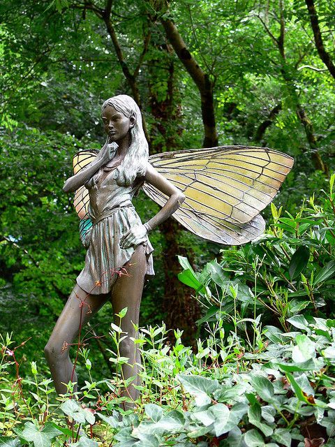 fairy statue | Fairy Statue 1 | Flickr - Photo Sharing!