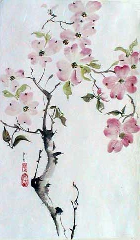Sumi-ê painting by Rita Böhm
