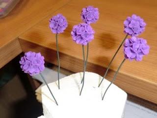 uitleg om bloemetjes te maken