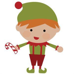 Boy Elf SVG file