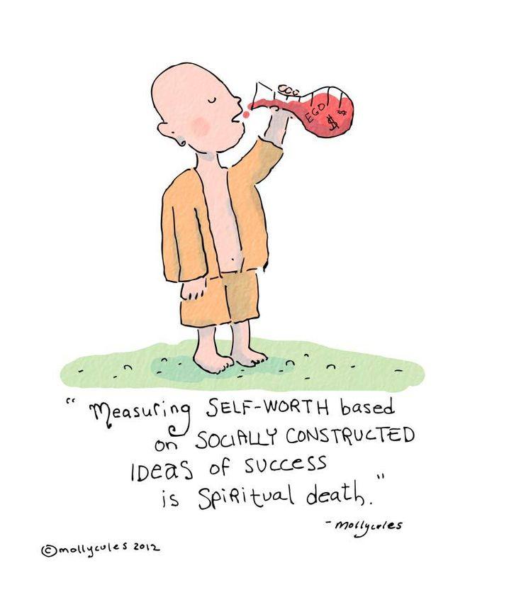 Measuring self-worth...
