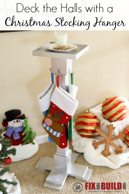 Best 10+ Stocking holders ideas on Pinterest | Christmas stocking ...