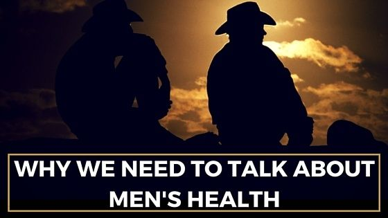 There is a stigma surrounding men's health, especially mental illness, that constrains the appeal to ask for help. Everyone will experience highs and lows in their lives, but research has shown that men are far less likely to seek help and support than women, especially in rural and remote areas.