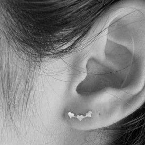 Boucle d'oreille tout le lobe