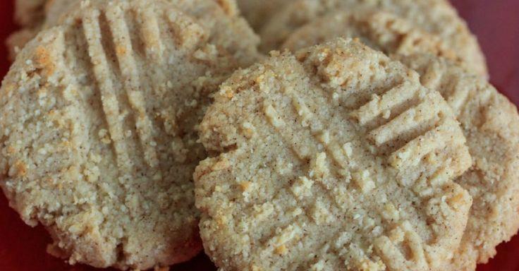Krehké sušienky z mandľovej múky