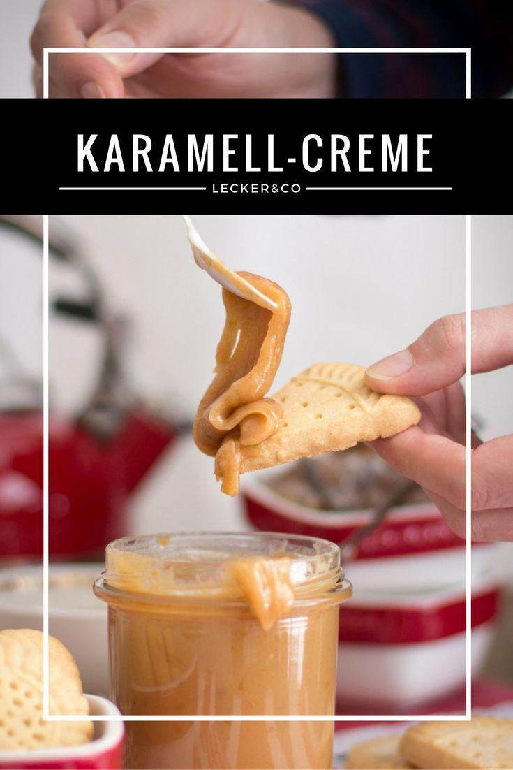 Karamell-Creme mit Zimt und Orange | Karamell-Cream with Cinnamon and Orange