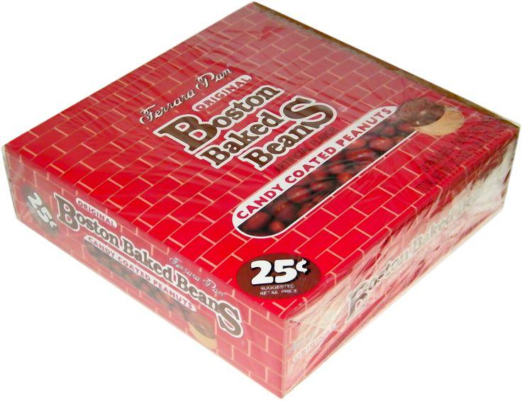 Boston Baked Beans - Bulk Retro Candy Store - CandyCrate.com - Boston Baked Beans Ferrara Pan Candy 24ct.