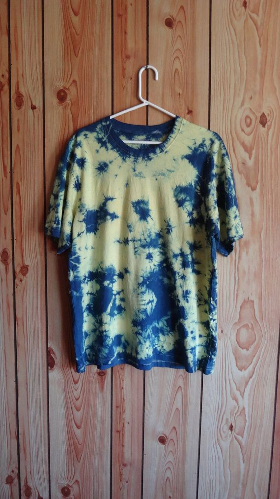 Tie Dye T-shirt Men's Large by WiseWitchWear on Etsy