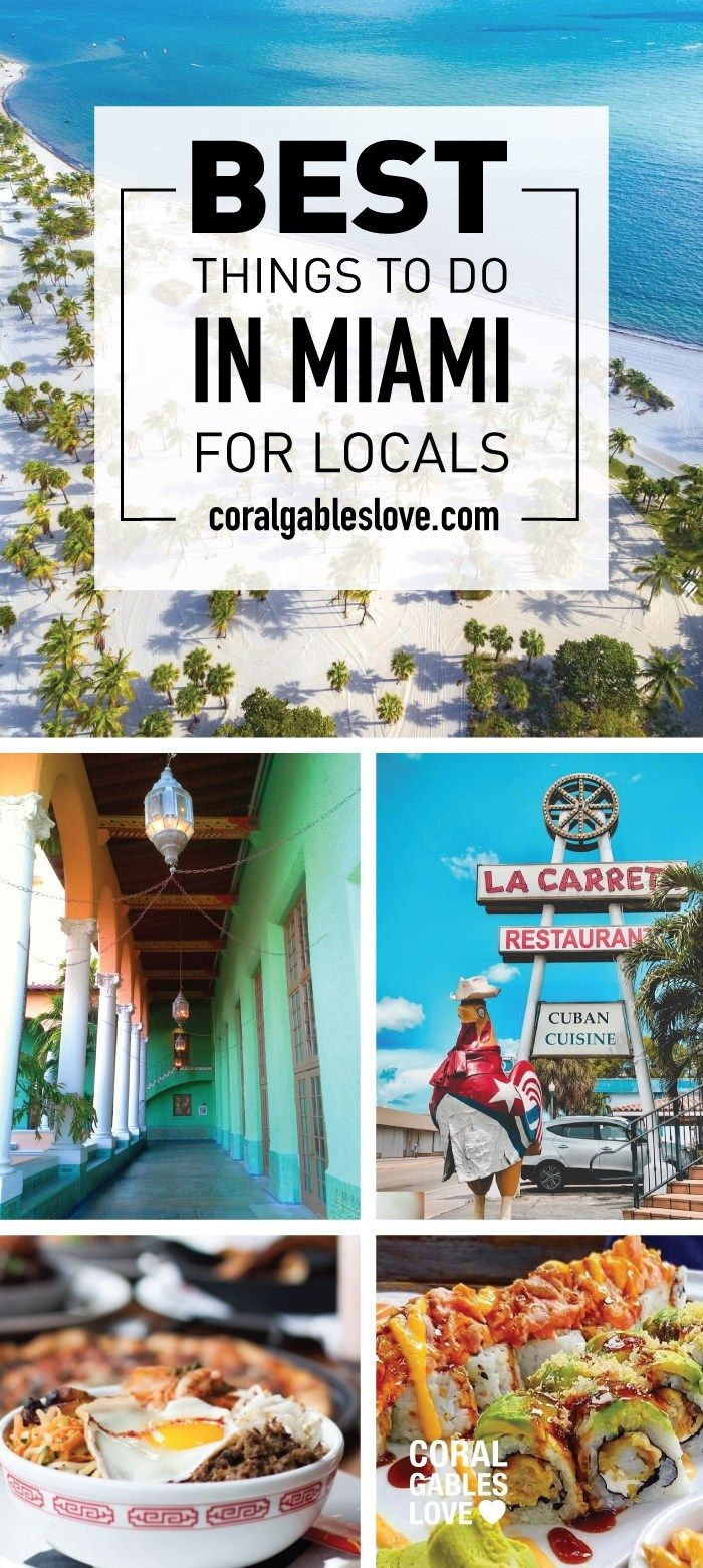 Locals Only Best Things To Do In Miami For Locals With Images
