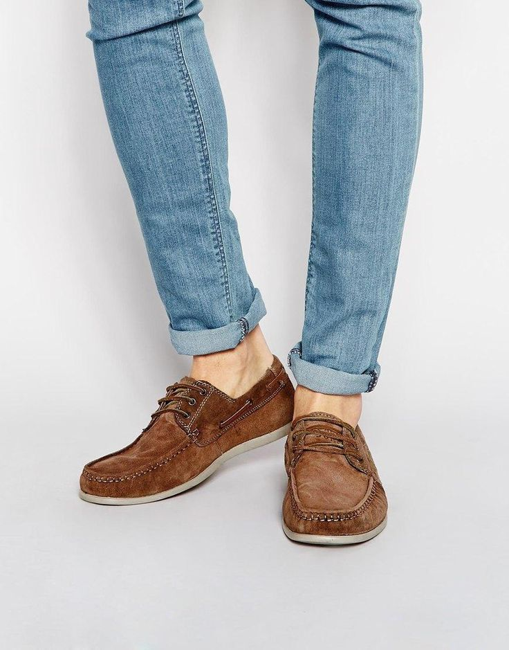 Jack & Jones | Jack & Jones Singapore Suede Boat Shoes at ASOS