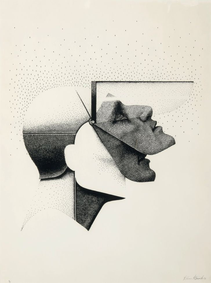 Mask by Kimmo Kaivanto, 1973