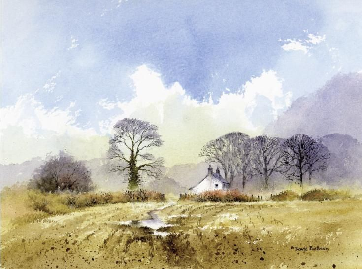How to paint foregrounds in watercolour with David Bellamy