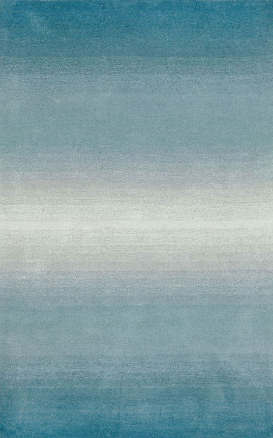 Trans Ocean Ombre Horizon Aqua Rug | Contemporary Rugs #RugsUSA