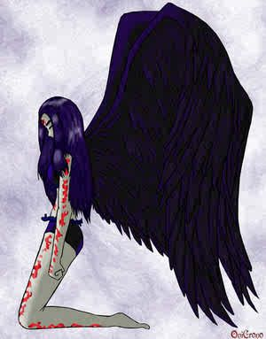 teen titan raven birth marks - Google Search