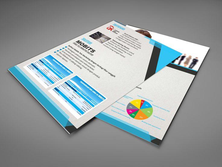 comunication company brochure