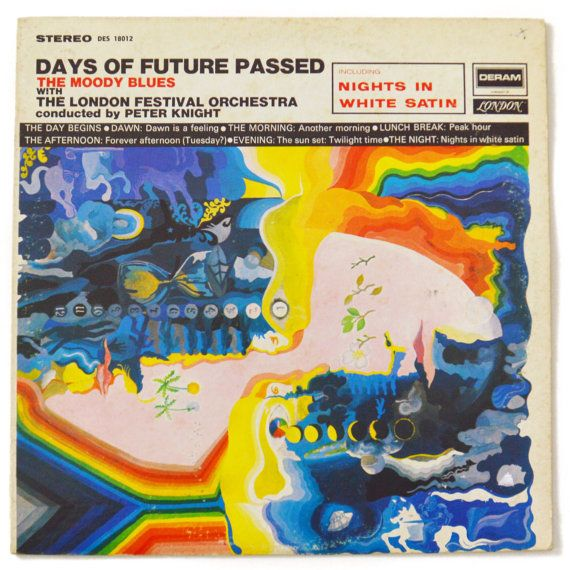 Vintage 60s The Moody Blues Days of Future Passed by Dopedoll