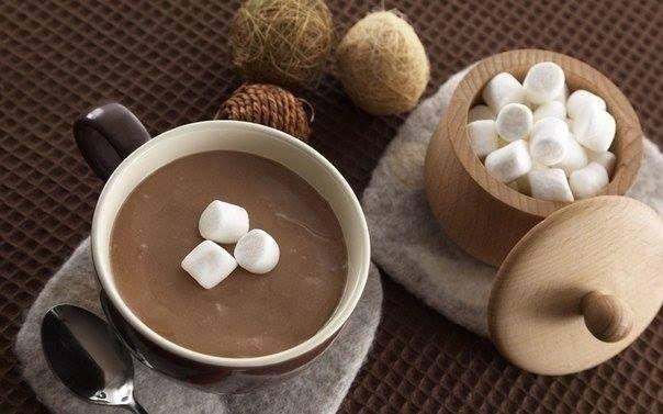 Фото к рецепту: Горячий шоколад. 5 лучших рецептов