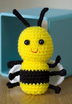 Cute Bee Crochet Pattern