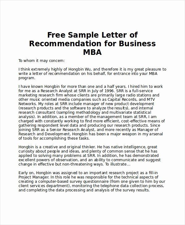How to write a mba research report