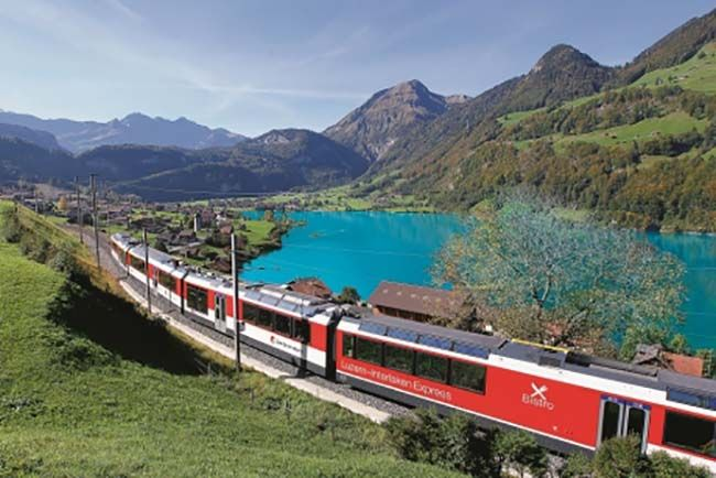 The Swiss Rail Pass for Switzerland trains- Story at Jetsettersmagazine.com
