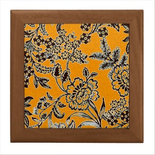 Golden Blossom Large Ceramic Tile + tileholder by Vikki Salmela, #sale, #new #English #garden #floral #flower #design in #golden #yellow and #black for a #contemporary #home #decor #ceramic #tile #framed for #hot #food #trivets, #decorative display or special #gift for #wedding or house warming. Coordinates with serving tray and other products.