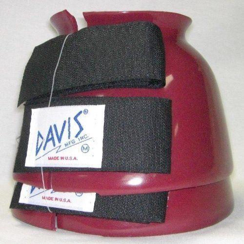 Davis Bell Boots Burgundy M by Davis. $23.95
