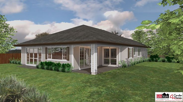 NIKAU 210 - A smart, attractive and economic design, great layout for family living.  Design by Cavalier Homes Norwest.