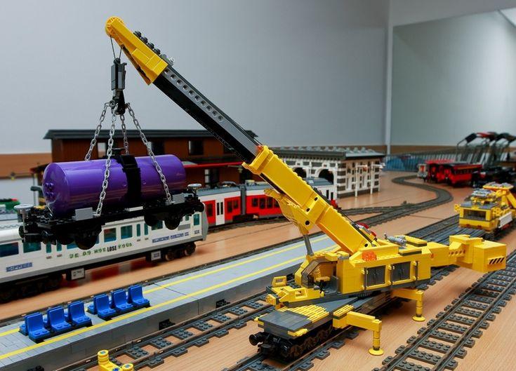 106 besten lego cranes bilder auf pinterest berlin geschenk und lego moc. Black Bedroom Furniture Sets. Home Design Ideas