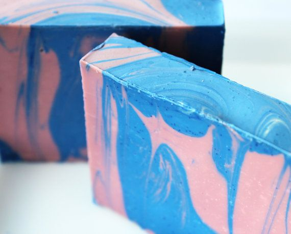 Rock Candy luxury soap all natural soap by DustBunnysBubbles