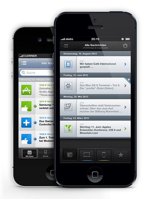 ifun   news, v5.0 — App on Behance