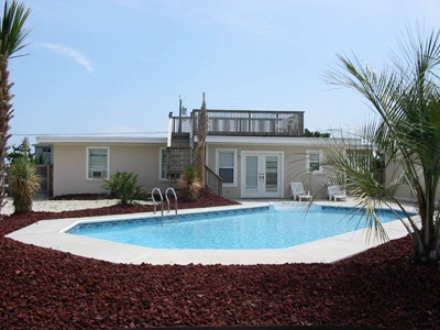 Sandbridge Beach Semi Oceanfront Vacation Home Siebert Realty Virginia Beach Va Moon