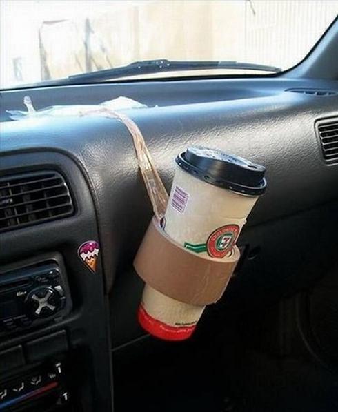 redneck cup holder