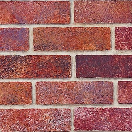 The Brick Wall Trompe L'oeil Stencil is a realistic wall mural stencil that includes 8 bricks to form an allover pattern, plus fallouts for trompe l'oeil stenci