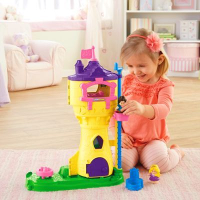 Little People® Disney Princess Rapunzel's Tower | BrandsLittlePeople | Fisher Price
