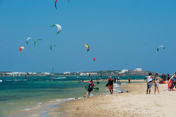 Paros Greece, kite-surfers' paradise
